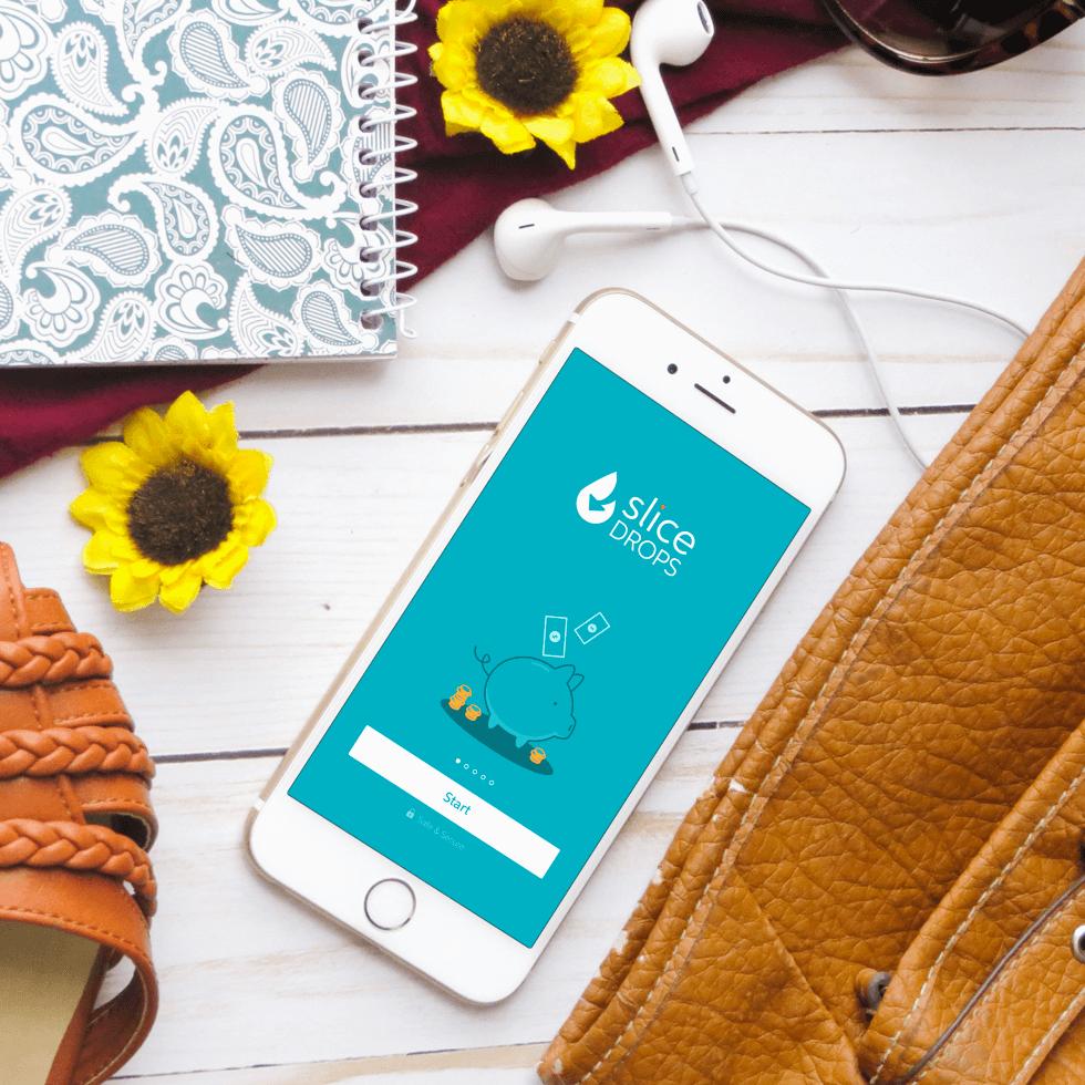 Slice Drops mobile app