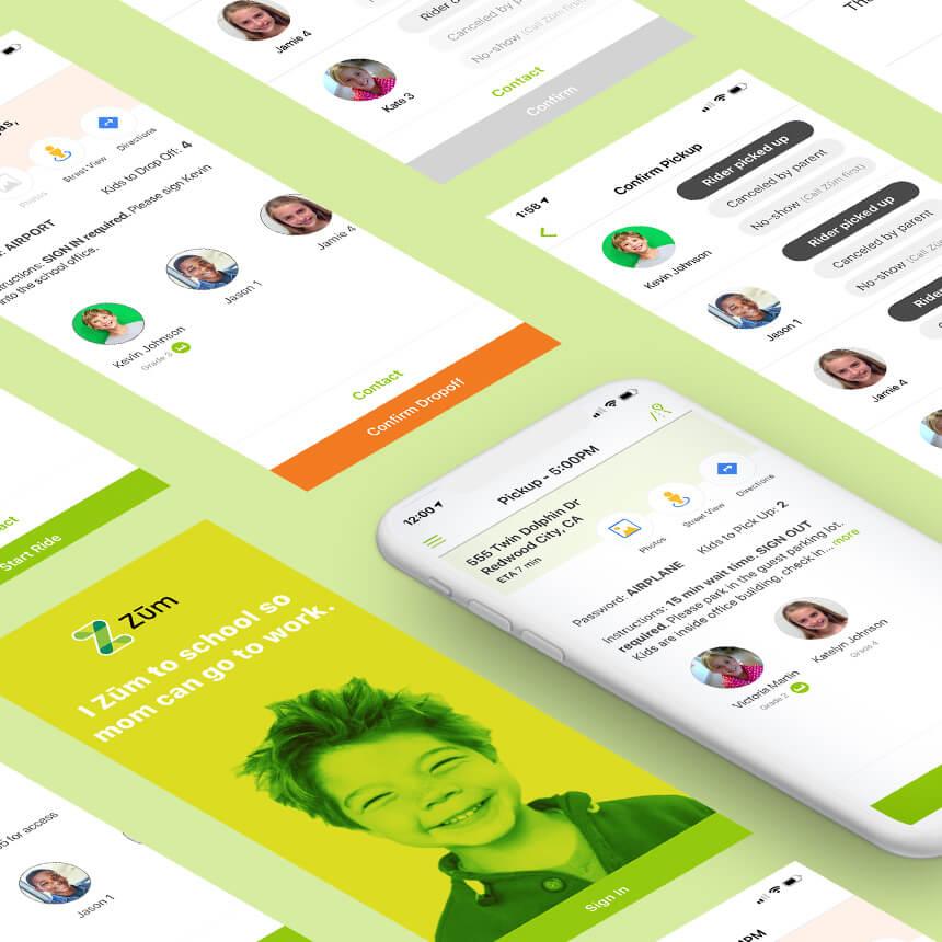 Zum Driver Mobile App