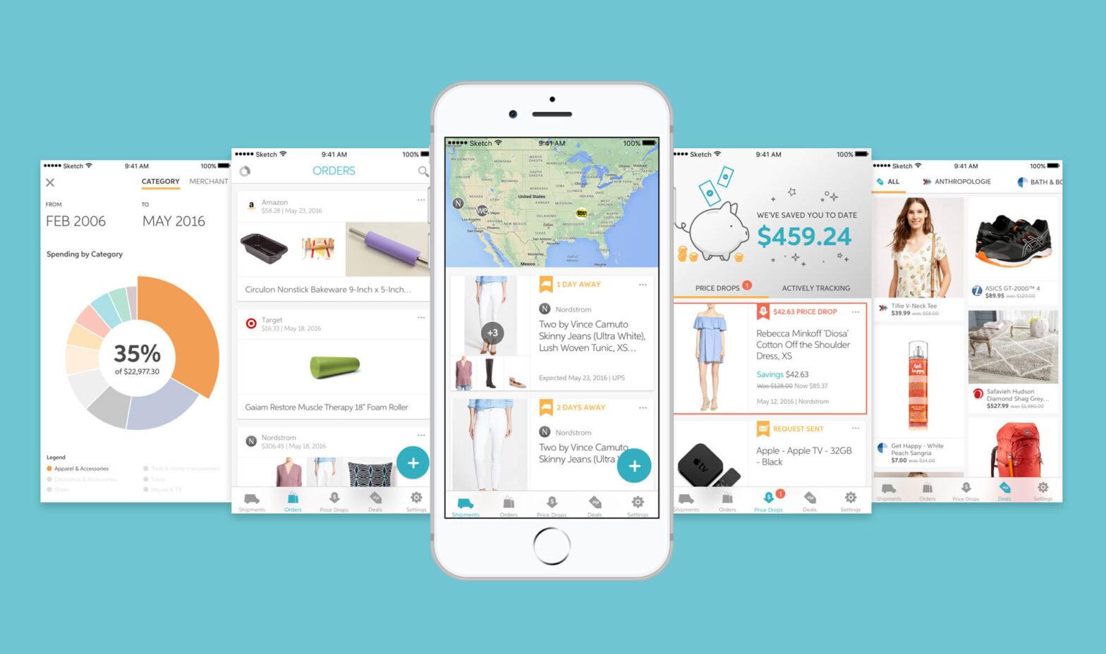 Slice mobile app