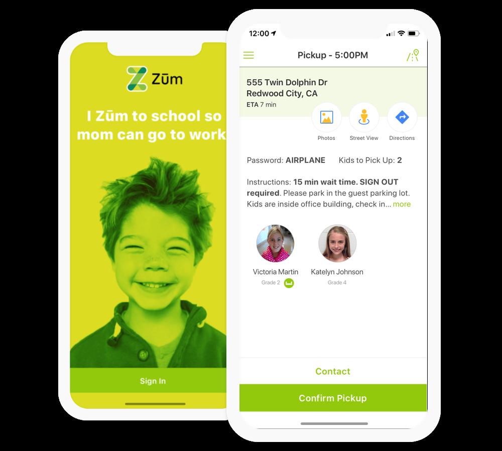 Zum Driver App